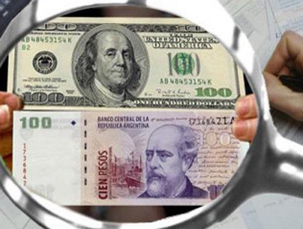 devaluacion del peso argentino frente al dolar