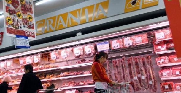 inflacion - en los supermercados la carne esta mucho mas cara